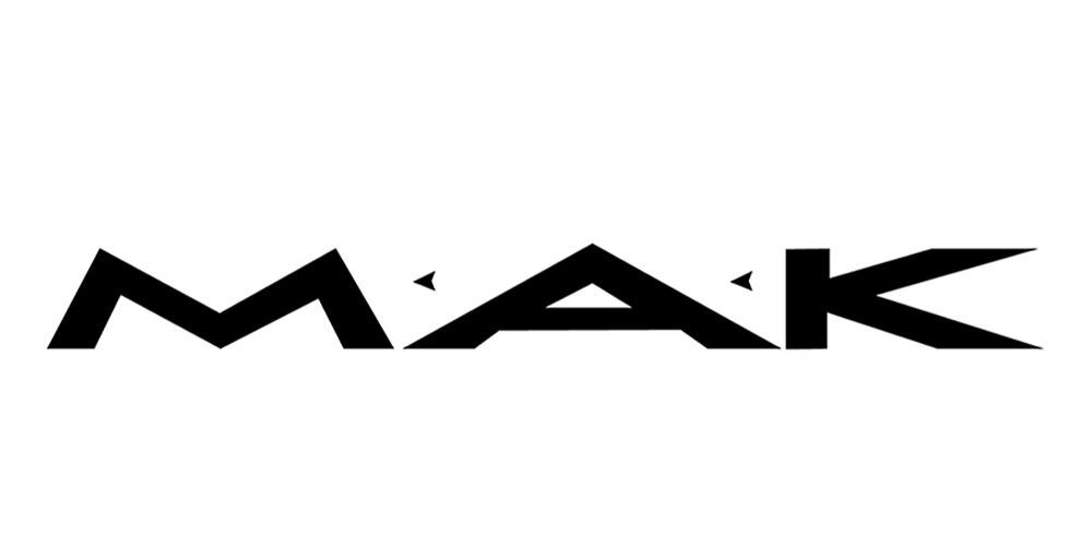 Лого бренда MAK из Китая