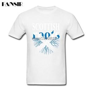XS-3XL, шотландские корни, шотландский Флаг, классические рубашки для мужчин, Мужская хлопковая футболка с коротким рукавом, брендовая одежда для подростков