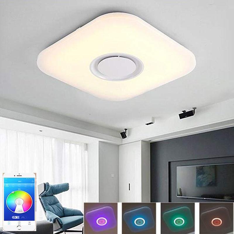 Ceiling Lighting Led Ceiling Lights Kitchen 110 220v Flush: 2018 Best Price AC 110 220V 36W LED Music Ceiling Light
