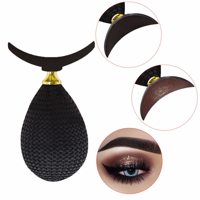 Magic Eyeshadow Makeup Applicator Silicon Eye Shadow Stamper Exquisite Soft Silicone Pad Portable Durable Makeup Tool Tslm2 High Quality Eye Shadow