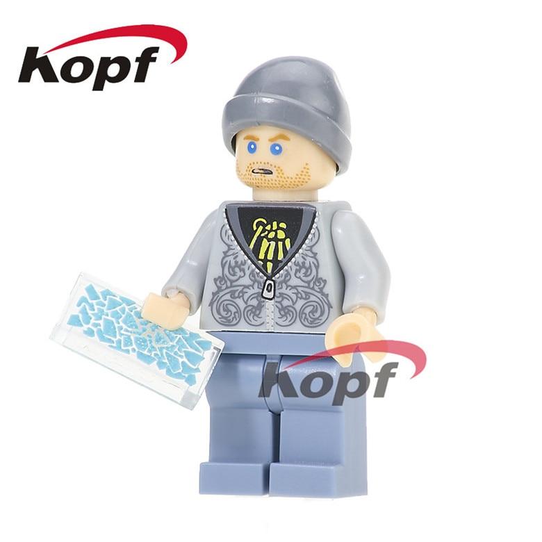 50Pcs KL063 Super Hero Building Blocks Jesse Pinkman Breaking Bad Star Wars Brickction Modle Action DIY Toys Gift For Children