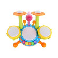 Baby Musical Drum Toy Kids Electronic Drum Kit Electronic Percussion Musical Instrument Children Educational Toys