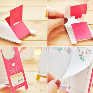 30Pages/Pack 2018 Hot Sale Cute Animals Panda Mini Memo Pad N Times Sticky Notes School Supply Bookmark Post it Label Gift E0357