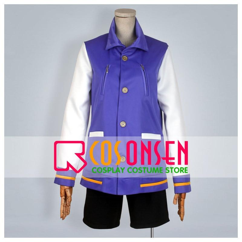 COSPLAYONSEN Free! Haruka Nanase Cosplay Costume Purple Balck All Sizes Custom Made