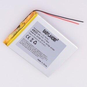 Литий-полимерный аккумулятор 407191 3,7 В 3,8 В 4800 мАч с защитной платой для планшетных ПК Irbis Cube U25GT, двухъядерный, версия 407093
