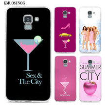 Transparent Soft Silicone Phone Case sex and the city For Samsung Galaxy j8 j7 j6 j5 j4 j3 Plus 2018 2017 Prime