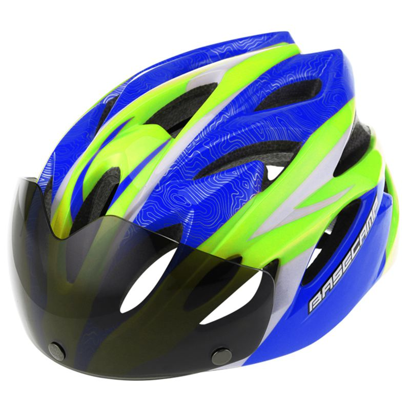 BASECAMP Bicycle Helmet Cycling Glasses Helmet Ultralight Women Men Breathable Helmet, cycling MTB Road Bike Goggles Helmets 5