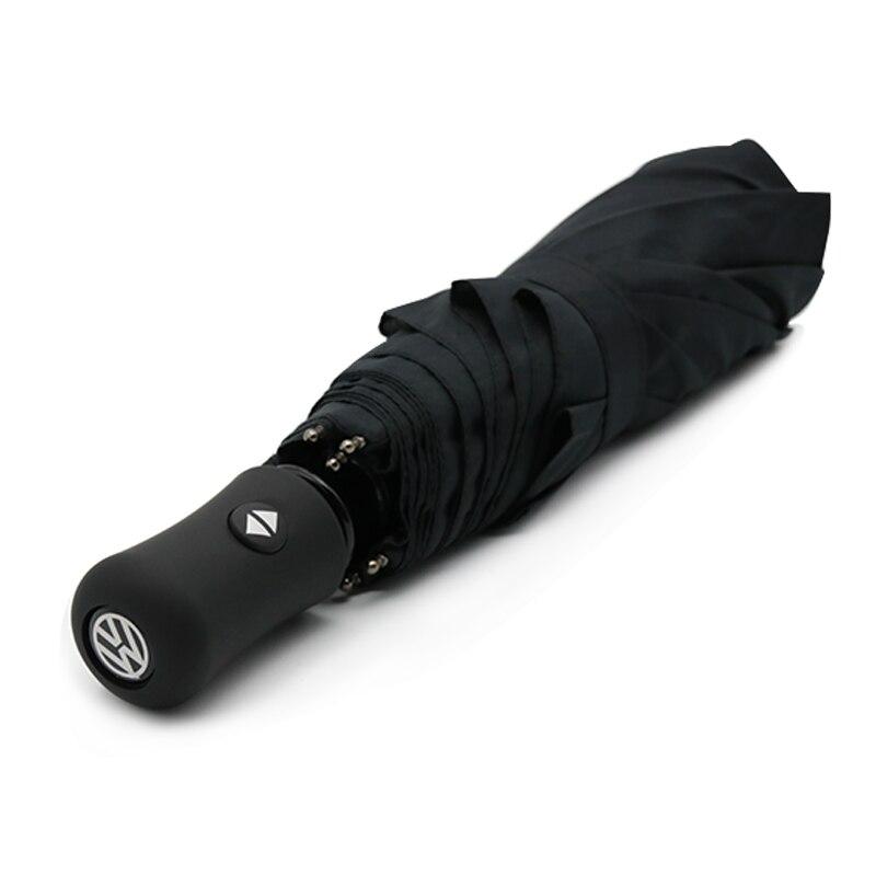 Parapluie automatique de style de voiture pour VW accessoires Tiguan Polo Golf 4 5 6 coccinelle Bora CC Passat B5 B5.5 B6 B7 parapluie pour cadeau