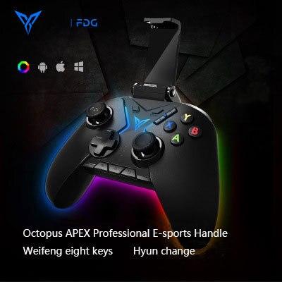 Flydigi pubg somatosensorial mobil denetleyici Bluetooth kablosuz gamepad denetleyici desteği bilgisayar mobil oyun sistemi joystick