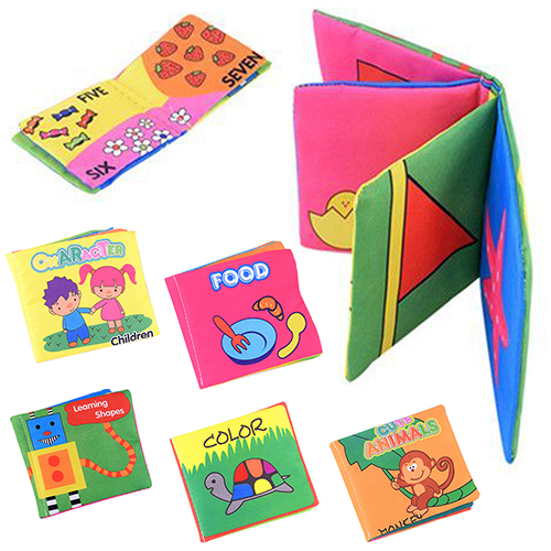 Infant-Baby-Children-Kids-Intelligence-Development-Cloth-Book-Cognize-Book-Toys-7KJC-2