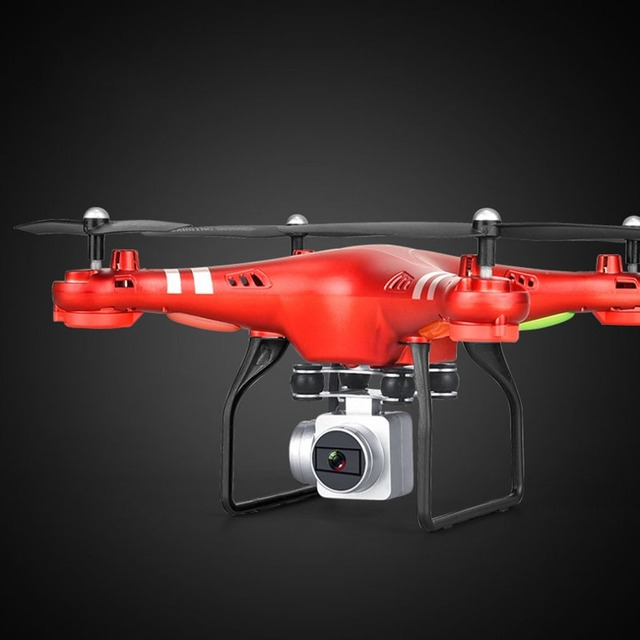 Mini RC Drone With Camera HD 360 Degree 1080P Wide Angle WIFI FPV Quadcopter Hovering Control Headless Mode Selfie Drone