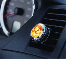 6 PCS LEMATEC Air Conditioning Air Freshener Diamond Style Japan Made Perfume CK fresh Aromatic Car Fragrance Car Accessory