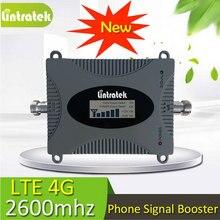 Gain 65dB FDD LTE 2600 Bande 7 Cellulaire Téléphone Signal Booster 600 Carré Couverture 2600 LTE signal amplificateur répéteur avec écran lcd