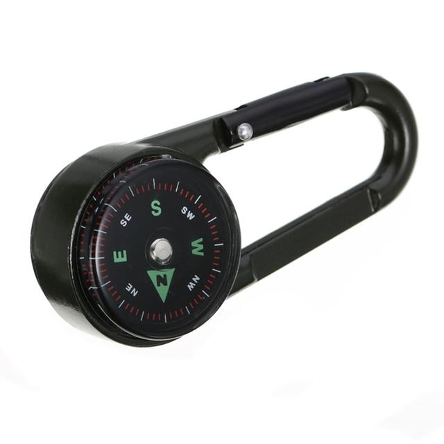 Multifunctional Mini 3in1 Carabiner Compass 4