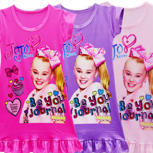 Купить с кэшбэком 2018 New Fashion Girls Nightdress Casual Dresses Kids  Pajamas Nightgowns Home Clothing Sleepwear Princess Clothes