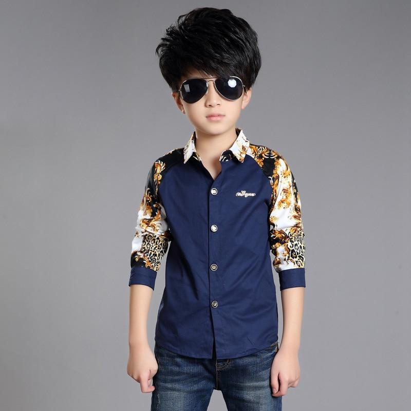 db9eee5fe234 New Design Kids Boys Clothes 2016 Autumn Print Long sleeved Baby Boy ...