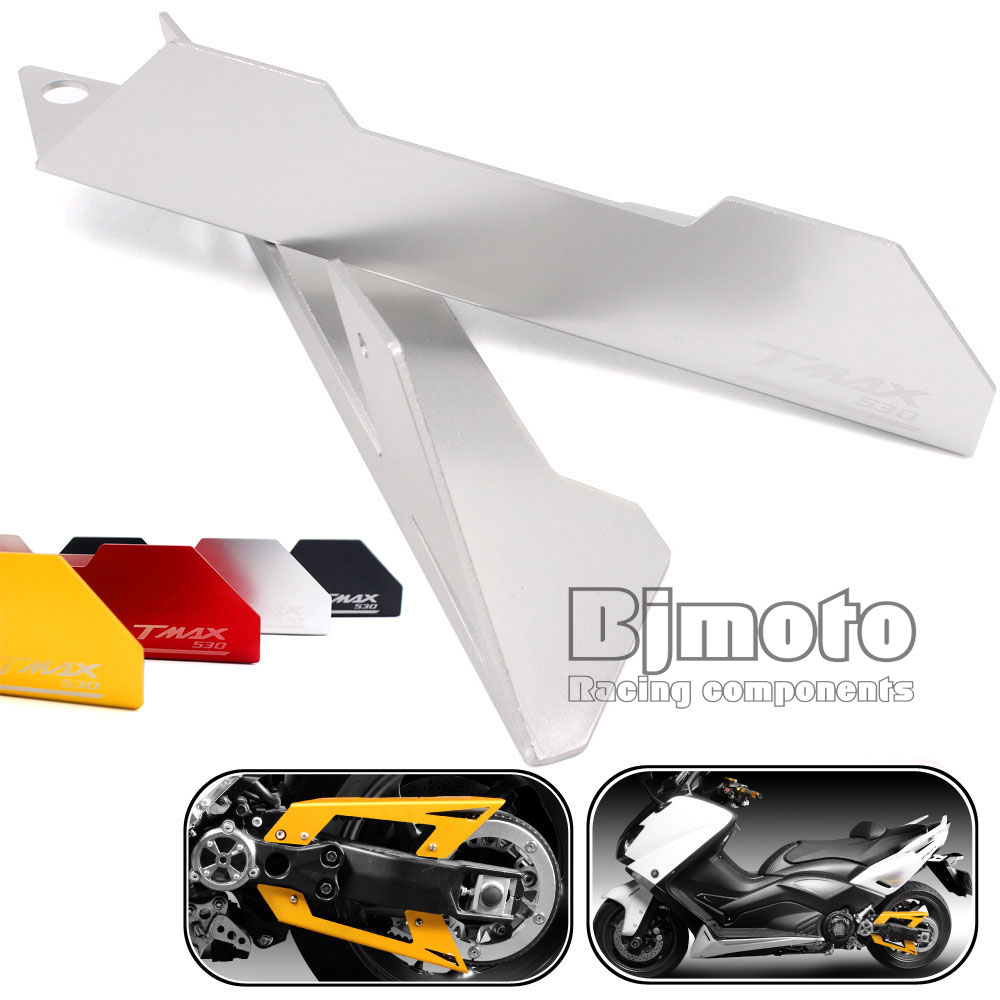 BJMOTO For Yamaha T MAX TMAX 530 2012 2013 2014 2015 Motorcycle Belt Guard Cover Protector hot sales best price for yamaha tmax 530 2013 2014 t max 530 13 14 tmax530 movistar abs motorcycle fairing injection molding