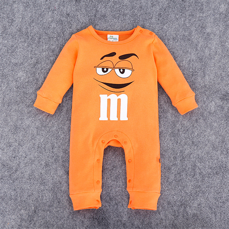 Summer 2017 Newborn Baby Girl Boy Clothes Baby Rompers Long Sleeve Cotton Sleepwear Pajamas Infant clothing 0-12 Months new newborn baby girl rompers pajamas long sleeve cotton romper clothes baby jumpsuit for babies animal infant boy girl clothing