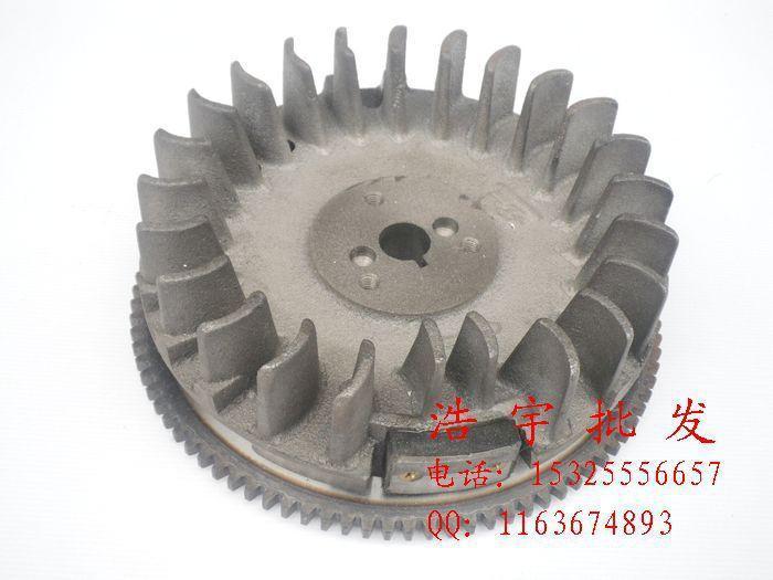 Accessoires de générateur d'essence MZ360 EF6600 185F démarreur électrique volant magnétique
