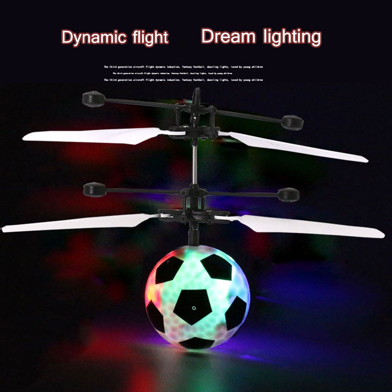 HOT SALE Infrared Induction Drone Flying Flash LED Lighting Ball Helicopter Child Kid Toy Gesture-Sensing No Need To Use Remot