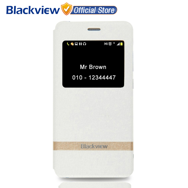 Оригинал Blackview A8 Leather Case cover Good Quality Сторона Открыта PU Раскладной телефон case cover для Blackview A8 телефон