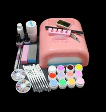 FT-134 Pro gel uv lamp ,manicure tool kit ,gel nail kit ,nail art gel lamp set,nail art tools,nail bursh,free shipping