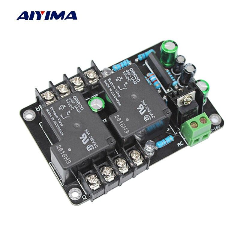 AIYIMA UPC1237 2.0 30A גבוהה כוח רמקול הגנת לוח ערכת חלקי ביצועים אמין 2 ערוצים עבור DIY HIFI מגבר