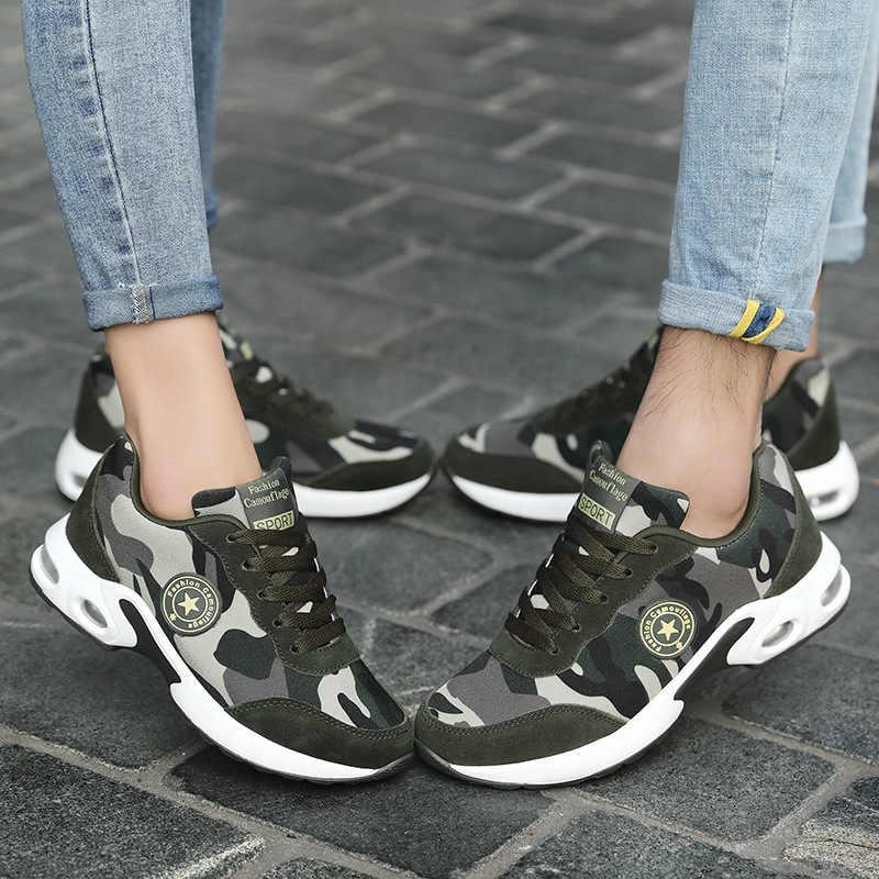 182f18ea9 Весенние женские прогулочные туфли модели дышащие замшевые камуфляжные  кроссовки Мужская Спортивная обувь уличная удобная обувь для