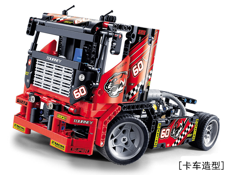 Toys CHINA BRAND 360 self-locking bricks Compatible with Lego Technic Limited Edition 8041 Race Truck TWO MODEL no original box sale phoenix 11221 china southern airlines skyteam china b777 300er no 1 400 commercial jetliners plane model hobby