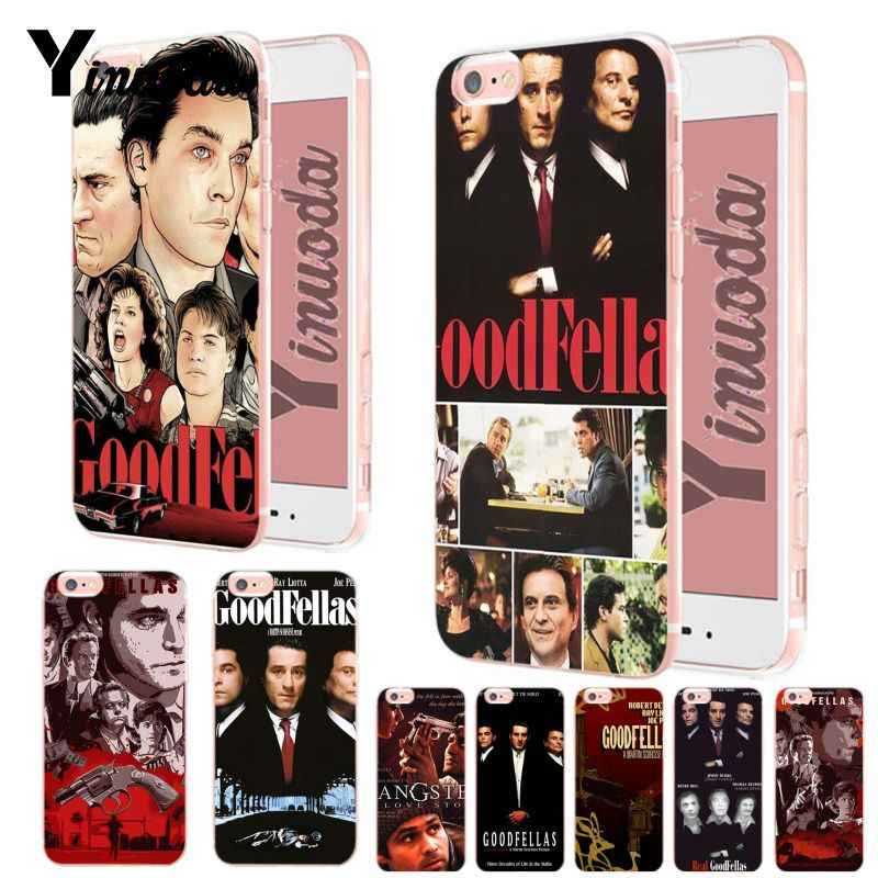 Yinuoda Goodfellas Gangster Movie Poster Luxury Quality transparent soft Phone Case for iPhone XsMax 8 7 6 6S Plus X XS XR 5S SE
