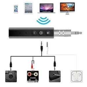 Image 3 - McGeSin Draadloze Bluetooth Adapter Ontvanger Stereo Muziek Audio Auto Kit Ontvanger Met 3.5 Jack Receptor Voor Hoofdtelefoon Speaker