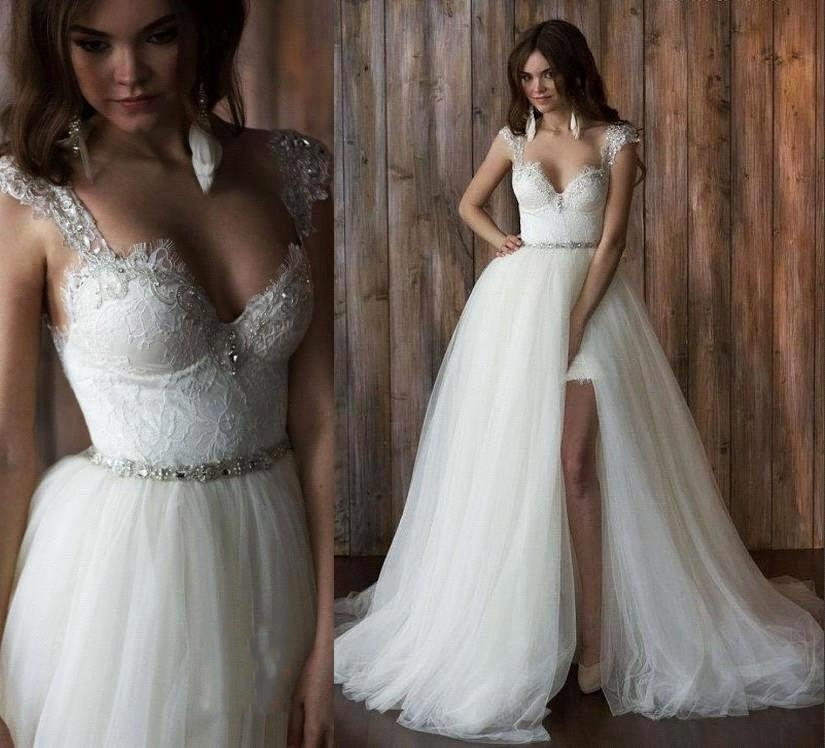 Detachable Wedding Gown: Popular Detachable Wedding Dress-Buy Cheap Detachable