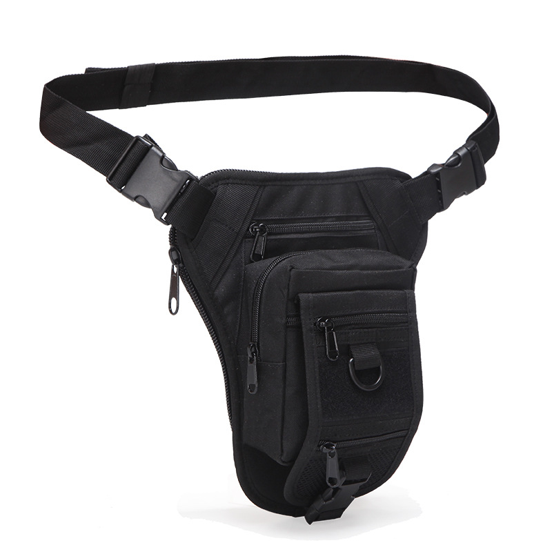 Military Fanny Waist Pack Bags Motorcycle Riding Pouch High Quality Multi-Pockets Men Nylon Camouflage Hip Bum Belt Bag
