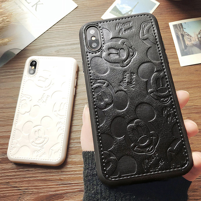 coque iphone xr silicone mickey
