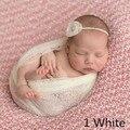 160*50 cm Malha Gaze Gaze Envolve Redes para Cobertor do Bebê Recém-nascido Fotografia adereços Adereços Fotografia Fundo de Maternidade