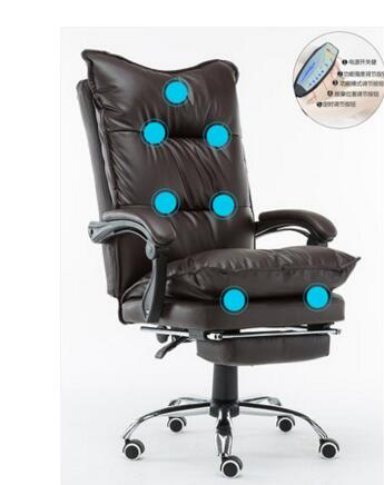 Computer chair. Home owner chair. Leather nap office chair. Massage chair.