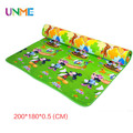 Thickness 0.5 CM New Best Quality Double Side Kids Play Rug Winnie Classic and Mickey Child Carpet Baby Crawling Gym Mat Toys