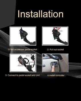 Автомобильный электронный контроллер дроссельной заслонки гоночный ускоритель мощный усилитель для LEXUS ES240 Тюнинг Запчасти аксессуар