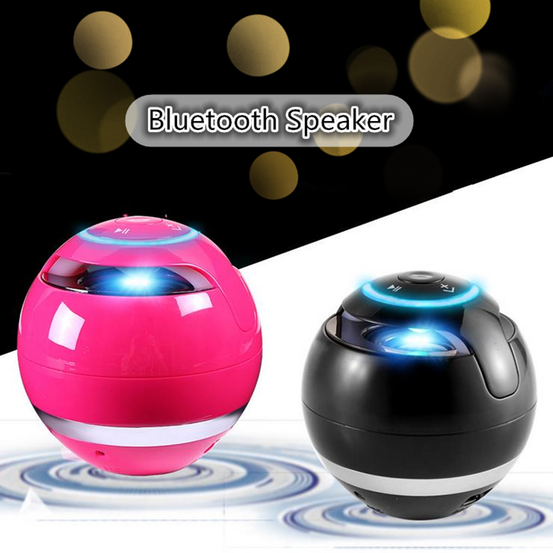 M18 Mini Bluetooth Sound box with Mic TF Card Portable Super Bass Boombox Wireless Speaker FM Radio LED Light Speaker