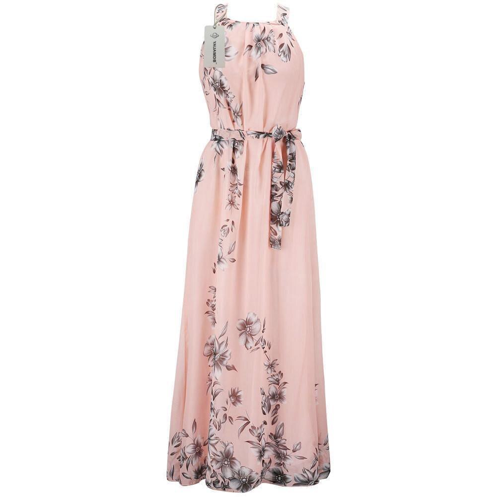 3XL Fat MM Woman Summer Dress Elegant Loose Dresses V NeckEvening ...