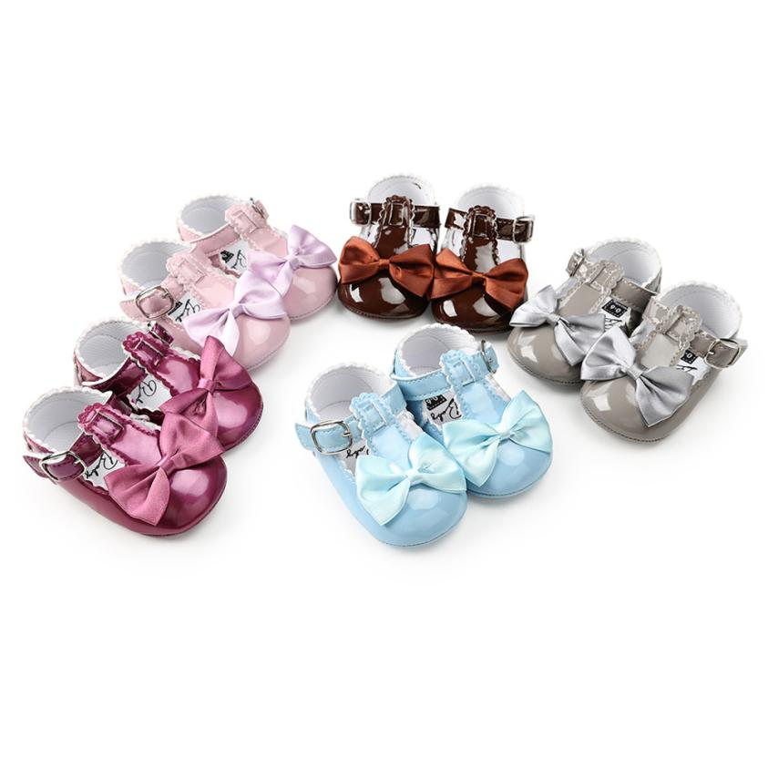 baby Girl shoes first walkers Baby Bowknot Princess Soft Sole Shoes Toddler Sneakers Casual Shoes m6 uk 2015 fashion toddler shoes first walkers baby lace up flowers sapatos soft sole infants girl shoes