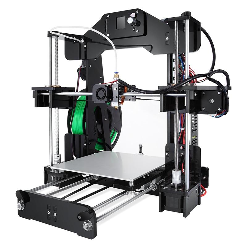Обновлен синийс Z1/T1plus 3D FDM печатная машина Алюминий Frame 3D-принтеры комплект нити Поддержка принтер 3d лазерная гравировка