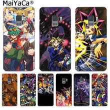 MaiYaCa Capa Yu-Gi-Oh anime Phone Case Colorful Back Cover Fashion for Samsung S9 S9 plus S5 S6S6edge S6plus S7 S7edge S8 S8plus(China)