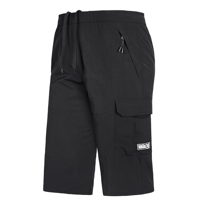 Time Motion Seven Part Pants Increase Fertilizer Enlarge Code Speed Do Seven Part Pants All Sides Elastic Sandy Beach Pants
