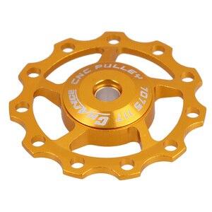 Велосипедный шкив Aest для MTB, направляющее колесо для дорожного велосипеда 11T 5 мм 6 мм, аксессуары для велоспорта, оптовая продажа