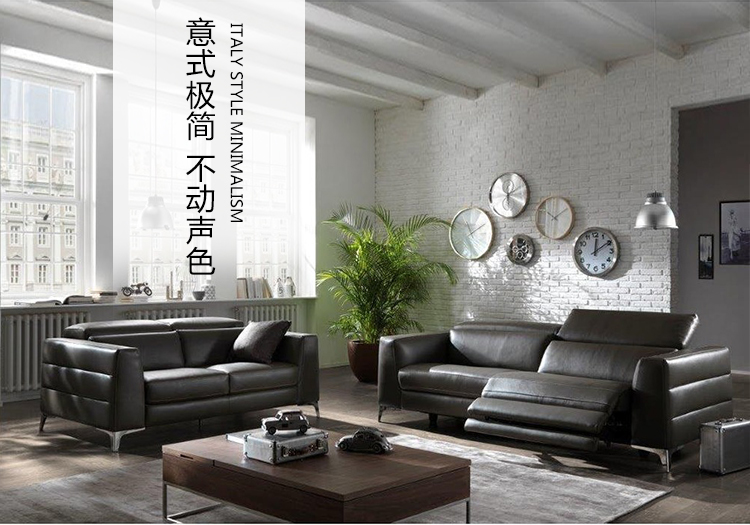 Living Room Sofa Set 2 Seater Sofa Recliner Electrical Couch Genuine  Leather Sectional Sofas Muebles De