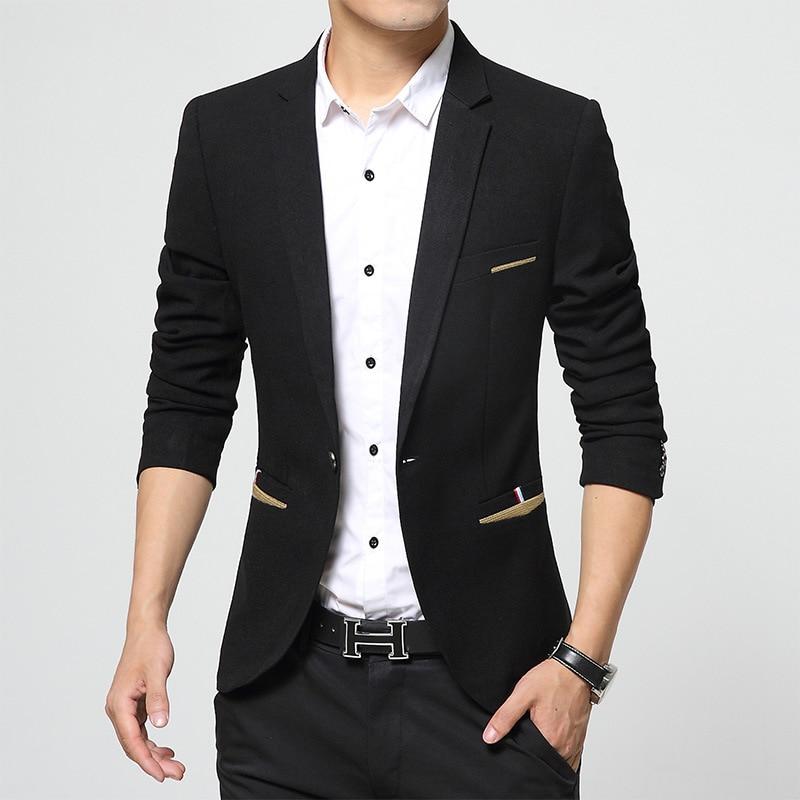nueva negocio de baratos Blazers ocasional fit hombres Blazers llegada traje hombres slim marca para Blazers 2016 la estilo en con chaqueta para moda hombre UqzdFHUw