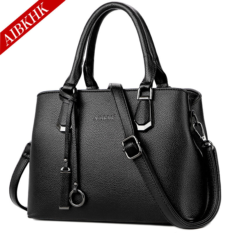 Luxury Genuine Leather Handbags Shoulder Crossbody Bags for Women 2018 Fashion Tote Brand Designer Hand Bag Ladies Messenger Bag teridiva luxury handbags women bags designer messenger shoulder bag brand ladies crossbody leather bags tote bag fashion handbag