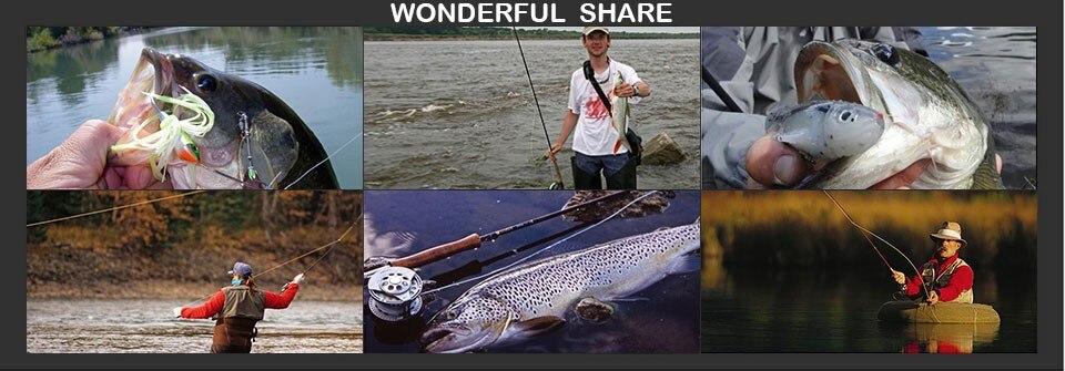 Fishing Engrenagem 8BB 5.8: 1 Arraste Carbono