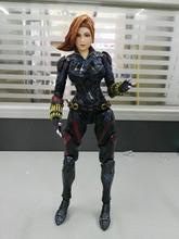 Movie Figure 27 CM Superhero Black Widow Captain America Black Widow  PVC Action Figure Collectible Model Toy Brinquedos